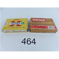 1 box Winchester + 1 box Norma 300 H&H magnum 180 grain SP
