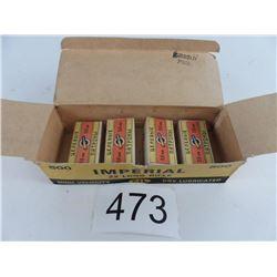 4 boxes 22 long rifle