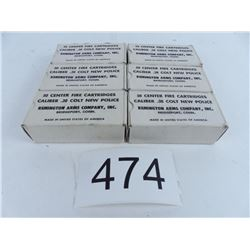 38 Colt new police 6 full boxes