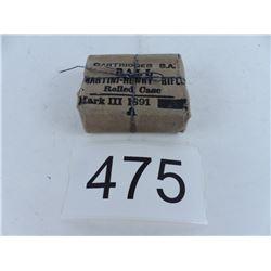Martini-Henry rifle rolled case MK3 1891 unopened