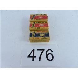 2 boxes 22 long Whiz-Bang + 1 22 short CIL Super-Clean
