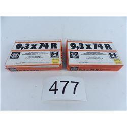 9.3x74R 258 grains copper hollowpoint