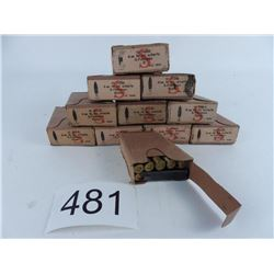 8 mm Mannlicher WW2 issue military 10 boxes + 1 partial