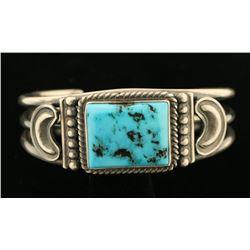 Navajo Ladies Turquoise Cuff Bracelet
