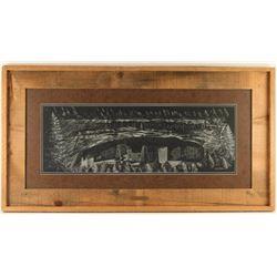 Original Joseph Robertson Scratchboard