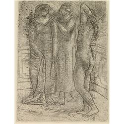 Etching by Pablo Picasso