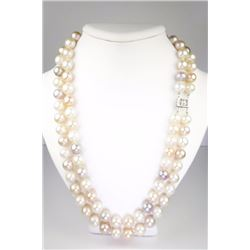 Elegant Ladies Double Strand Cultured Pearls
