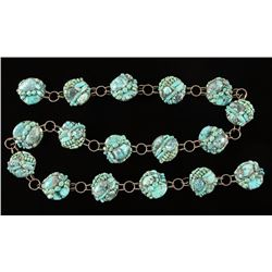 Artistry Made Wire Wrapped Turquoise Belt