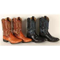 2 Pairs Ladies Ariat Cowboy Boots