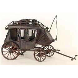 Handmade Metal Stagecoach