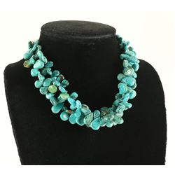 Two Strand Chinese Turquoise Choker