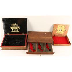 Lot of 3 Unique Small Boxes