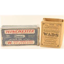 Collectors Winchester .45 Auto Rim