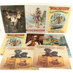 Lot of 10 Reproduction Tin Signs