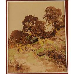 Original Watercolor on Paper