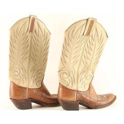 Pair of Dan Post Cowboy Boots