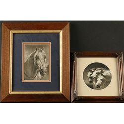 2 Fine Art Horse Prints