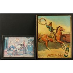 Lot of 2 Cowboy Advertisers