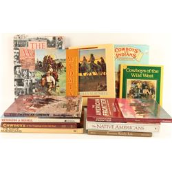 Large Lot of Western Books