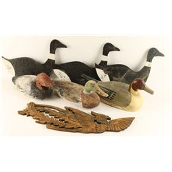 Lot of Wooden Decoys