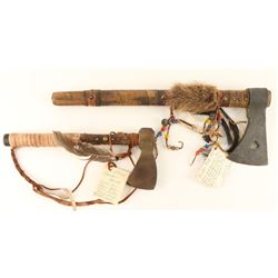 Lot of 2 Trading Post Type Tomahawks