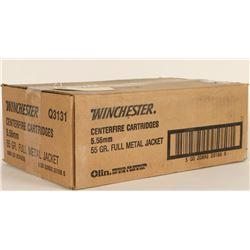 Winchester 5.56 FMJ Ammo