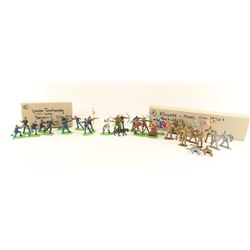Lot of Britains Soldiers 3 Set Group