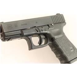 Glock 23 .40 S&W SN: DPX607US