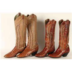 2 Pair of Mens Cowboy Boots