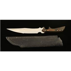 Custom Downswept Fighting knife