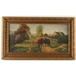 Original Oil on Canvas