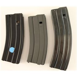 Lot of 3 AR-15 Extended Magazines