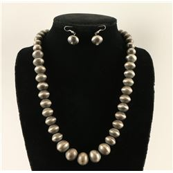 Dine Sterling Beaded Necklace