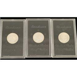 (3) Eisenhower Proof Dollars