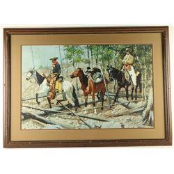 Framed Remington Print