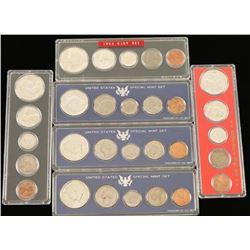 Lot of (6) US Mint Sets
