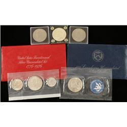 (5) Eisenhower Silver Dollars