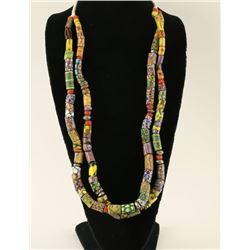 Colorful Trade Bead Necklace