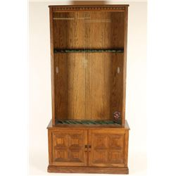 Veneered Rifle Cabinet