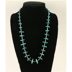 Navajo Buerman Turquoise Necklace