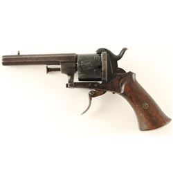 Unsigned Pinfire Revolver NVSN
