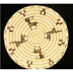 Papago Figural Basketry Tray