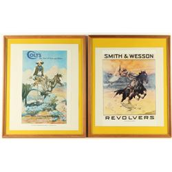 Collection of 2 Advertiser Prints