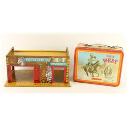 Vintage Lunch box & Toy