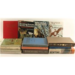 Lot of Vintage Hunting Related Books