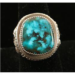 Navajo Turquoise Ring Set