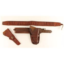Lot of 2 Holster Rigs