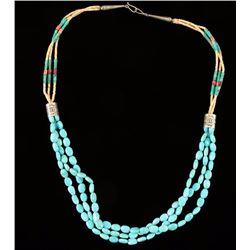 Navajo Sleeping Beauty Necklace
