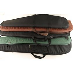 Lot of 5 Soft Padded Rifle Cases