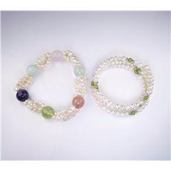 Two Lots of Pearl Bracelets